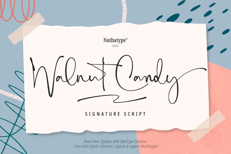 Walnut Candy Font