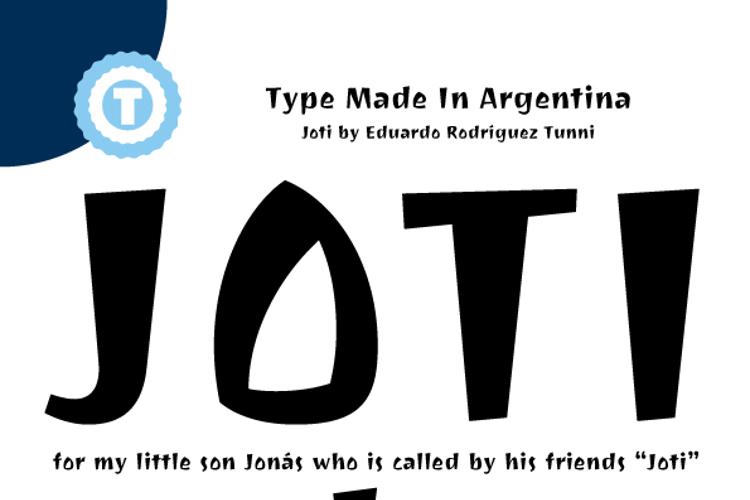Joti One Font