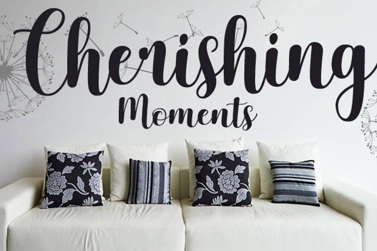 Cherishing Moments Font