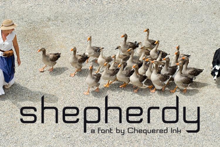 Shepherdy Font