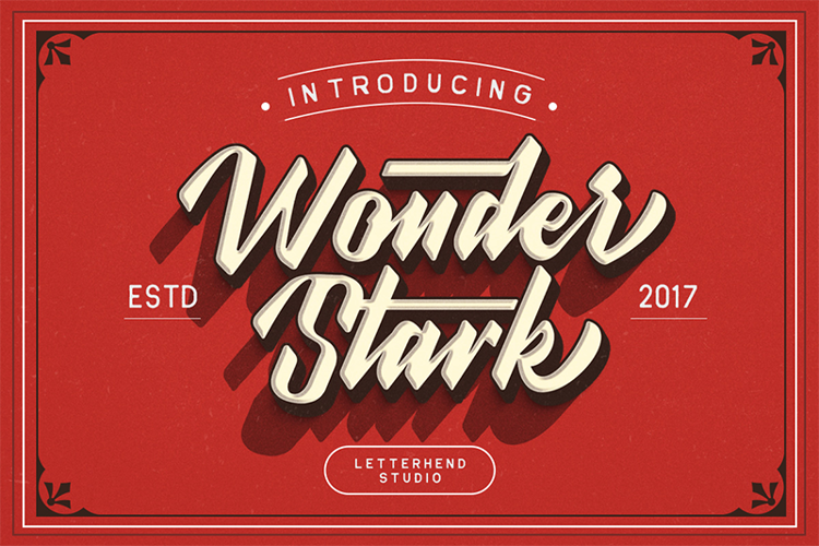 Wonder Stark DEMO Font