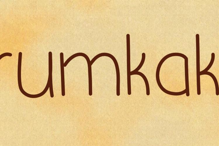 Krumkake Font