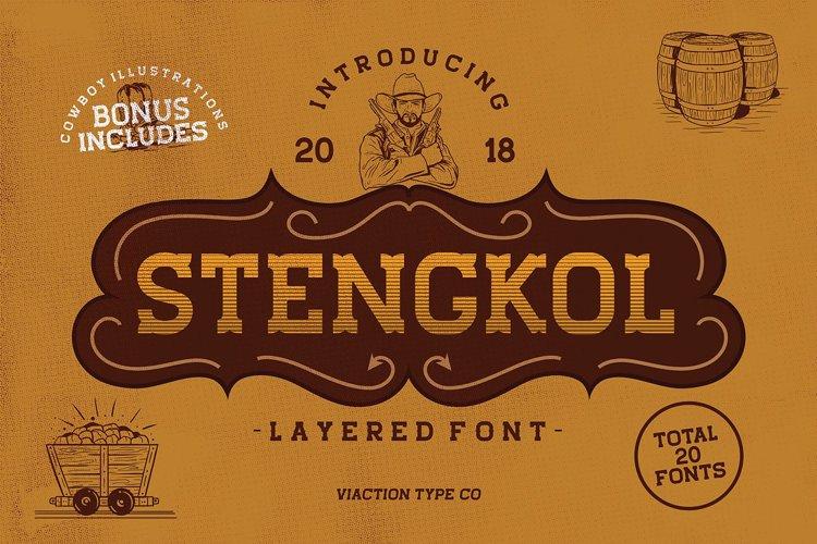 Stengkol 01 Font
