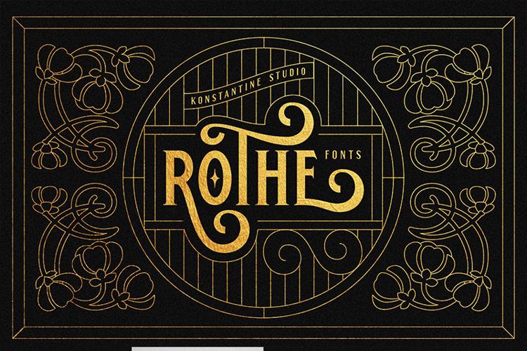 ROTHE Font