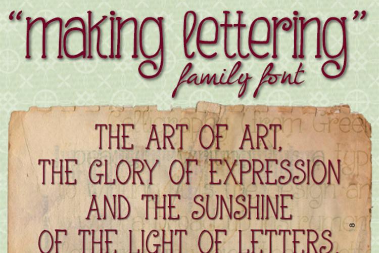 Making Lettering Font