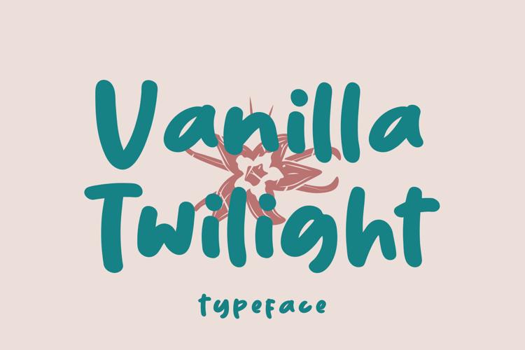 Vanilla Twilight Font