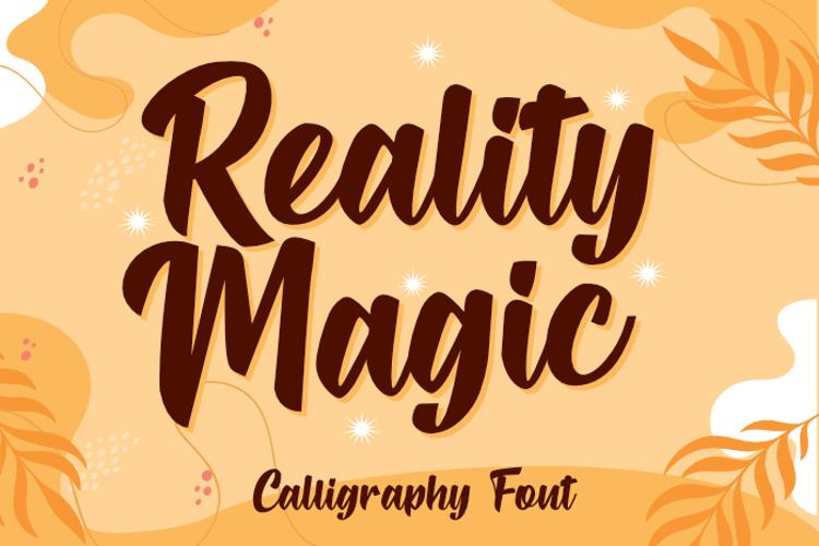 Reality Magic Font