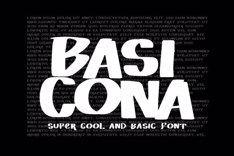 Vtks Basicona Font