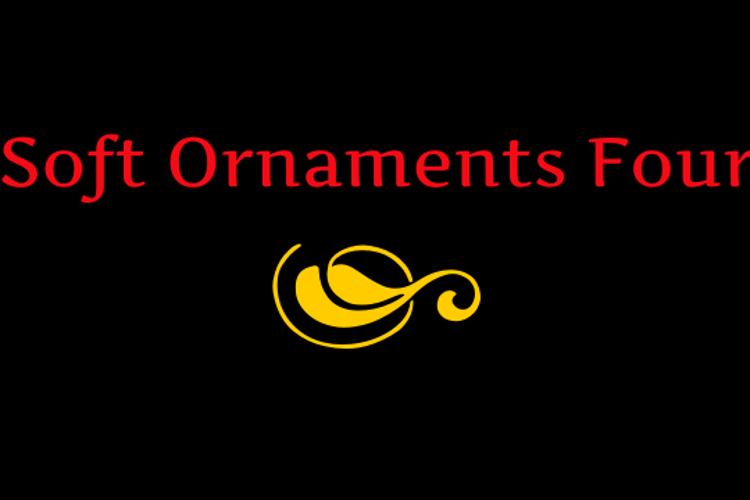Soft Ornaments Four Font
