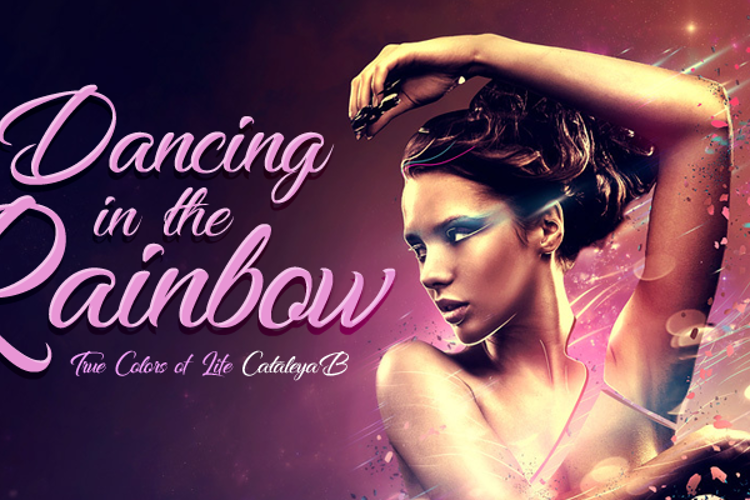 Dancing in the Rainbow Font