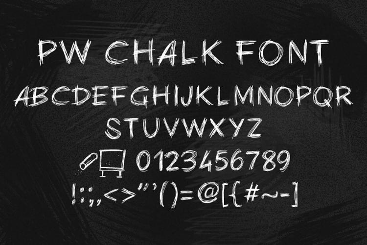 PWChalk Font