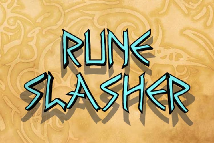 Rune Slasher Font