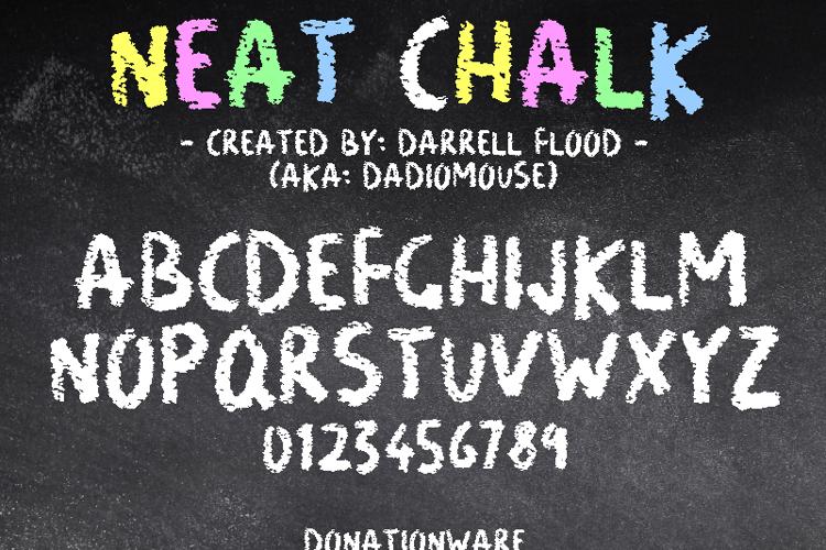Neat Chalk Font