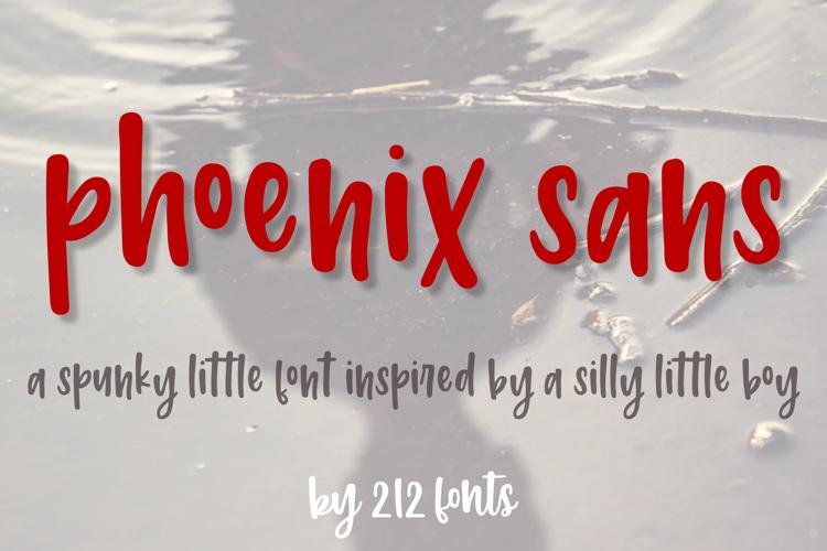 212 Phoenix Sans Font
