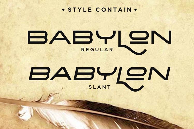 Babylon Font