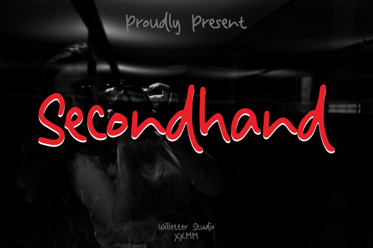 Secondhand Font