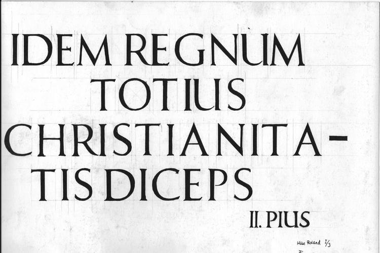 Freehand Roman Font