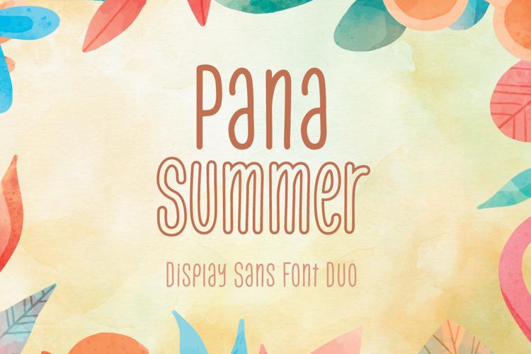 Pana Summer Outline Font
