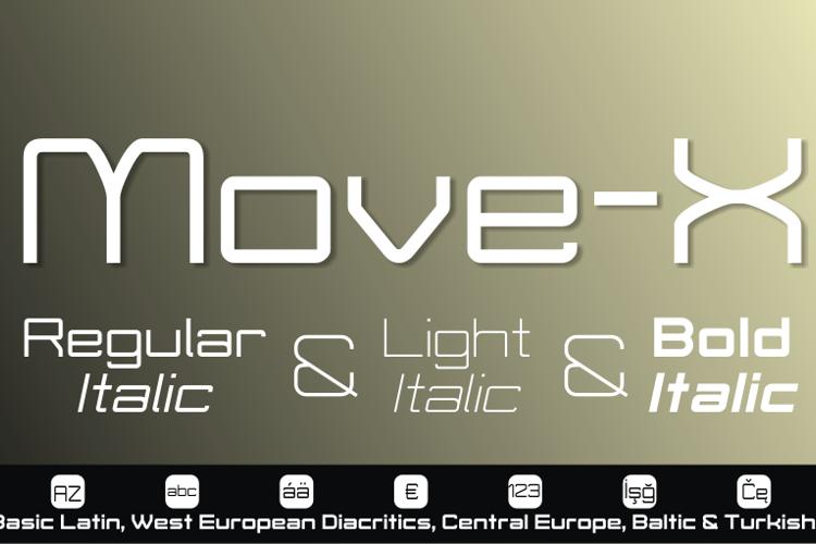 Move-X Font