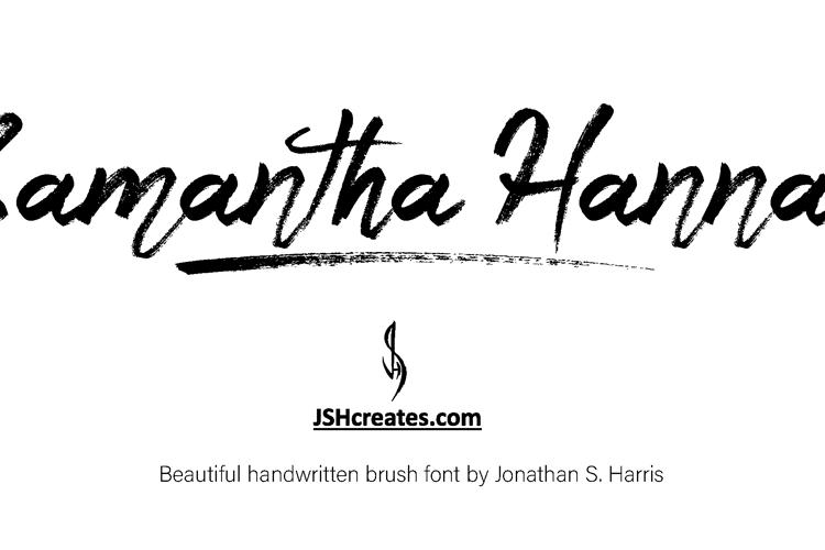 Samantha Hannah Font