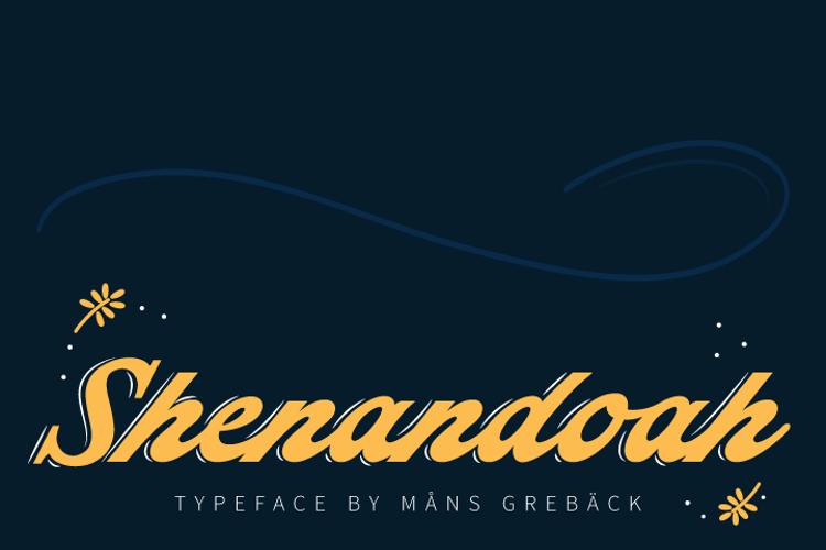 Shenandoah Font