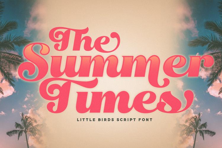 Little Birds Font