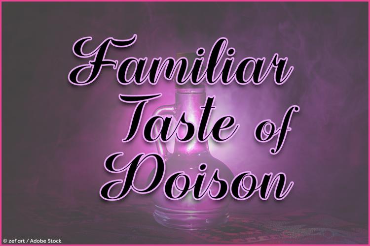 Familiar Taste of Poison Font