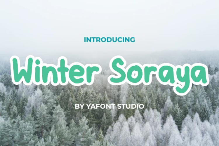 Winter Soraya Font
