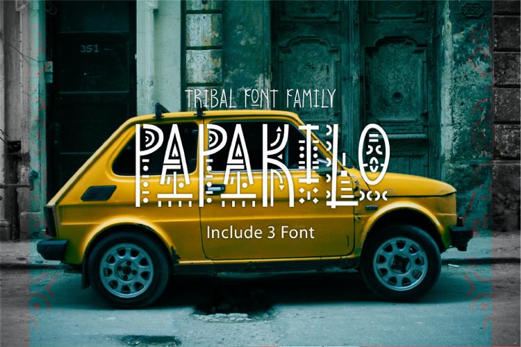 Papa Kilo Font