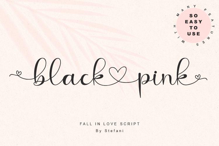blacklovepink - Font