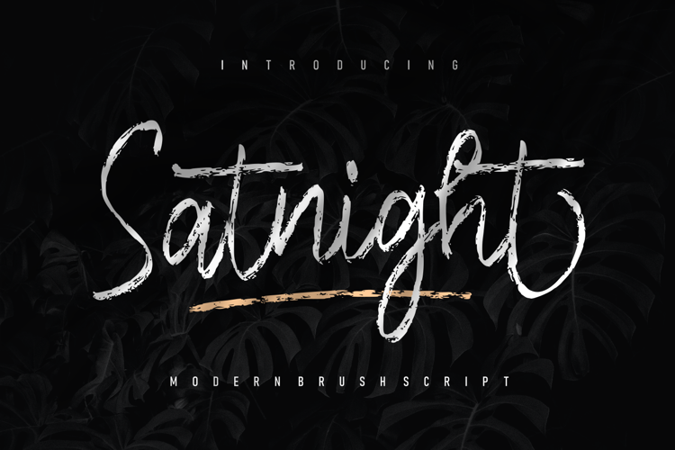 Satnight Font
