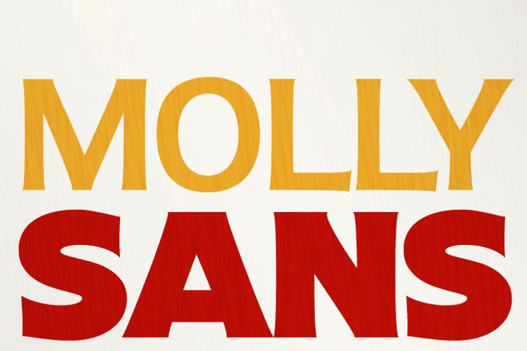 Molly Sans Font