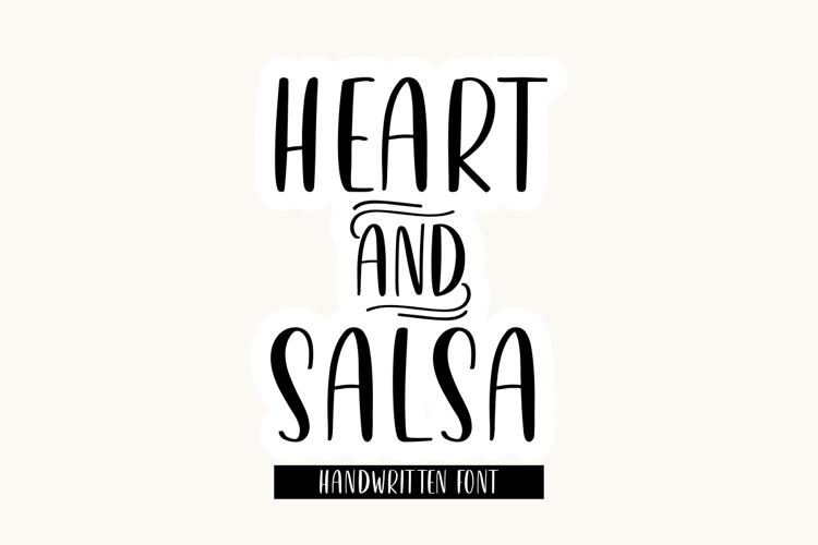 Heart & Salsa Font