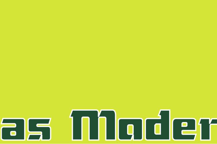 Das Modern Font