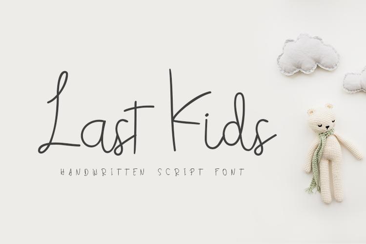 Last Kids Font