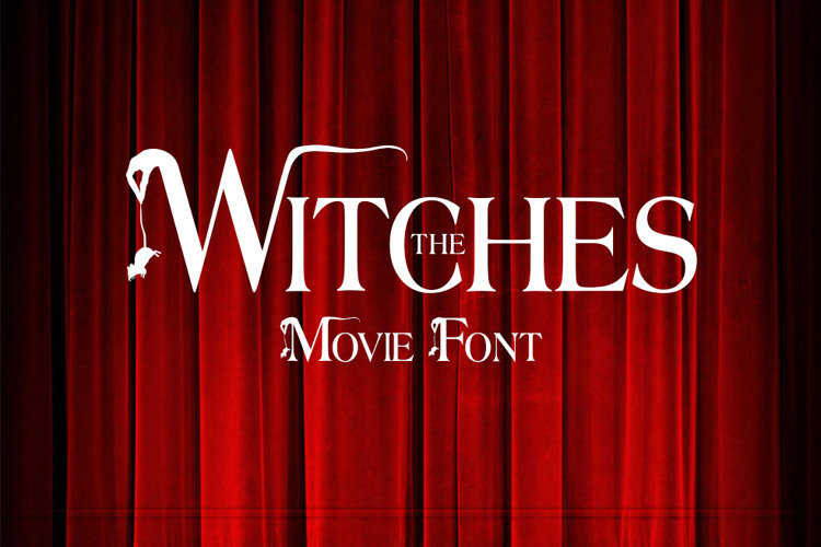 The Witches Font