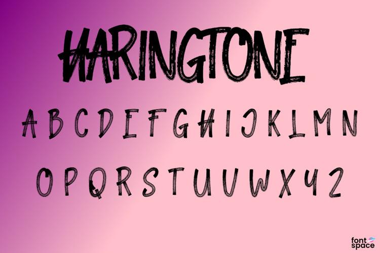 Haringtone Font