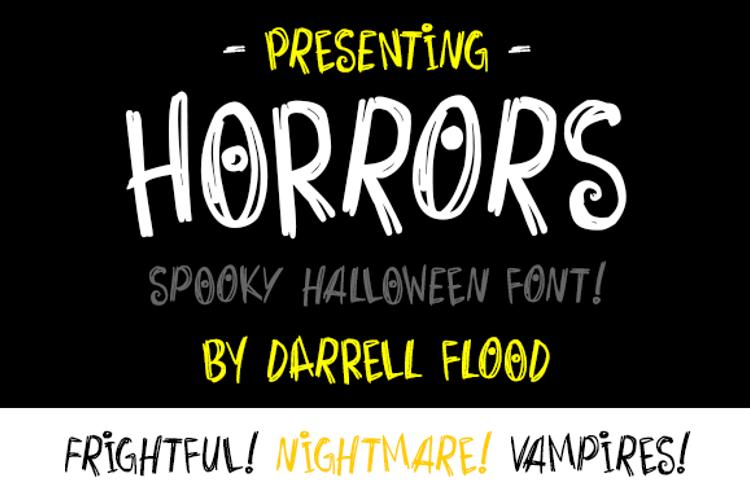 Horrors Font