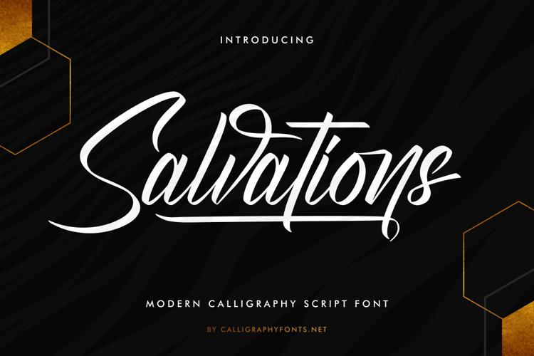 Salvations Font