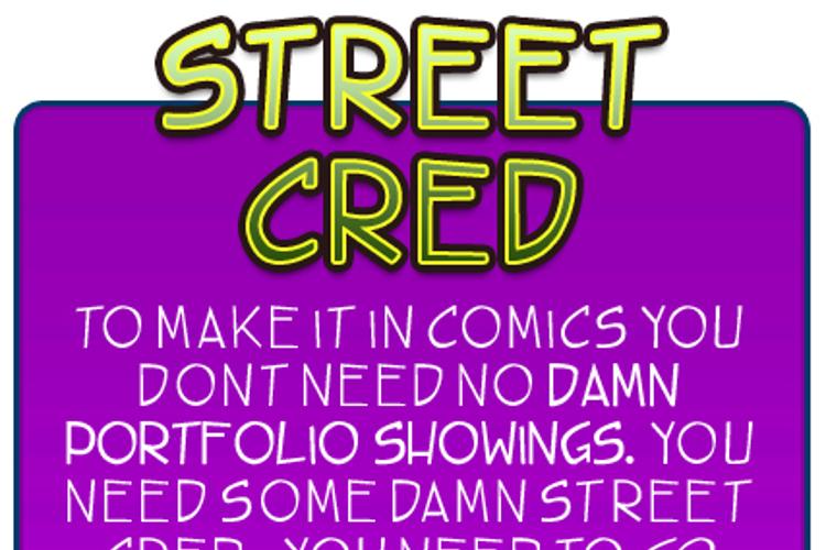TBS street cred Font
