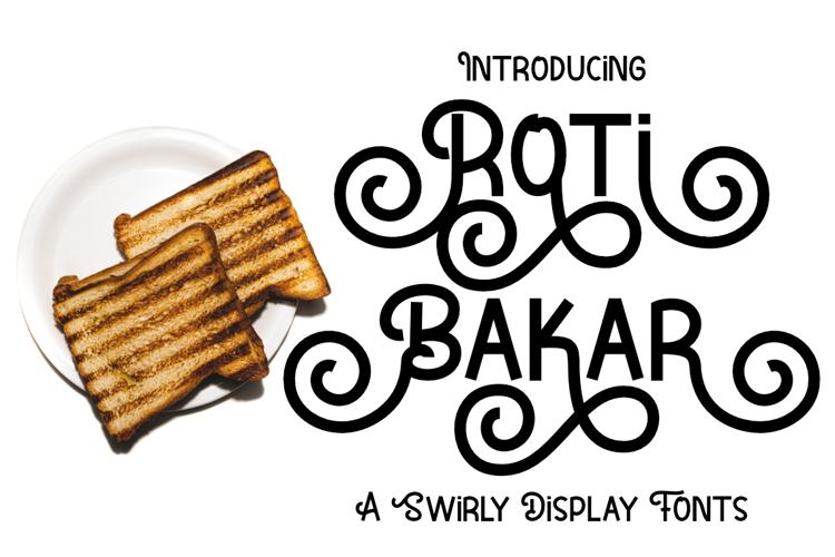 Roti Bakar Font