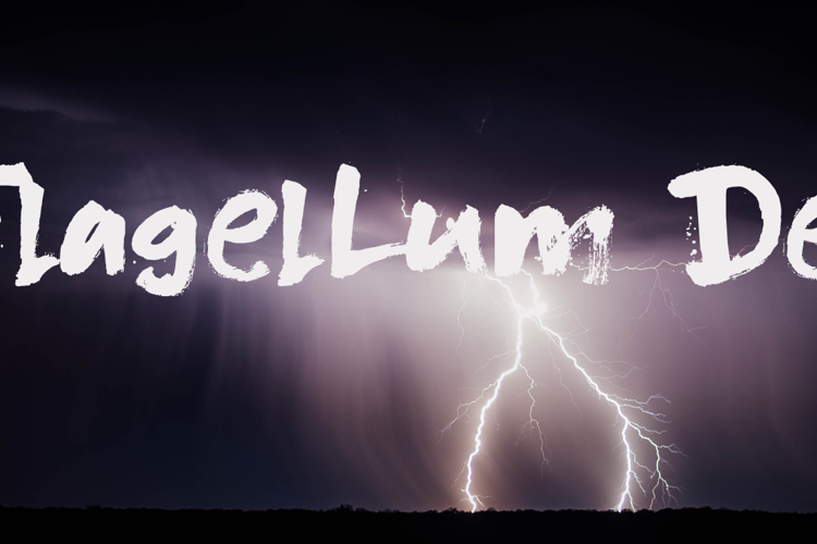 DK Flagellum Dei Font