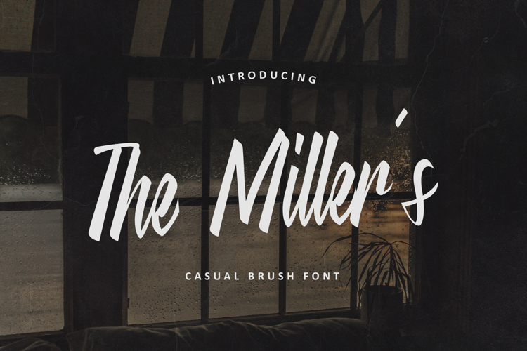 The Millers Font