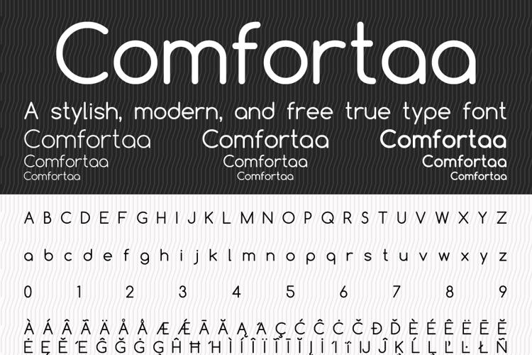 Comfortaa Font