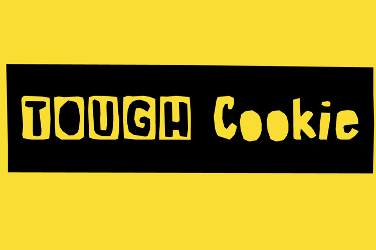 Tough Cookie Three Font