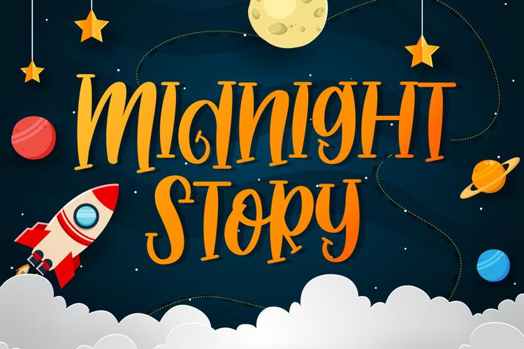 Midnight Story Font
