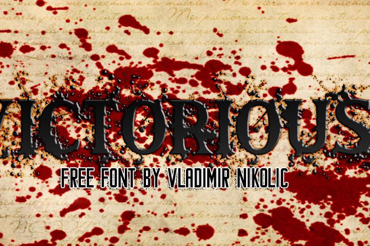 Victorious Font