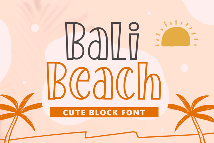 Bali Beach Font