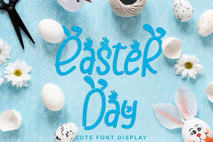 Easter Day Font