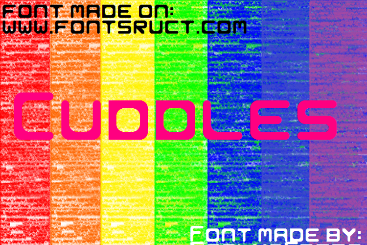 Cuddles Font